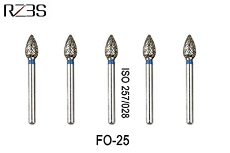 new style c19d9 57752 Buy Generic FO 32   12 PC Dental Diamond Strawberry Bur FG Flame Ogival End  Bur For NSK Style High Speed Air Turbine FO-25, FO-27, FO-32, FO-32C, ...