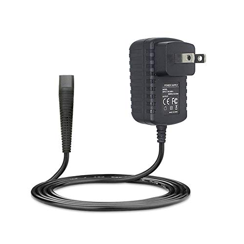 6V Shaver Charger for Braun Contour cruZer FreeGlider Select Models 6V 600mA Power Cord Replacement Power Adapter Parts for Braun 5690 5417 5418 5685 5751 5757 5759 30 140 150 -