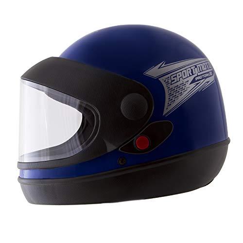 Pro Tork Capacete Sport Moto 58 Azul