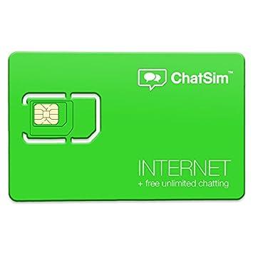 ChatSim 2 (Internet + Chat) - Tarjeta SIM internacional para ...