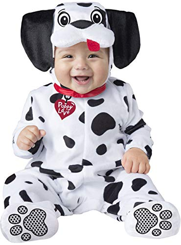 Baby And Dog Halloween Costumes (Baby Dalmatian Puppy Dog Costume size Small 6-12)