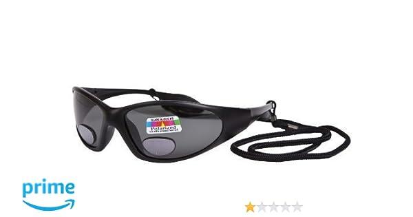 OPTICAID - Gafas de Sol Bifocales Polarizadas de Pesca en Ángulo UV400 - Color Gris, Negro - +2.5: Amazon.es: Ropa y accesorios