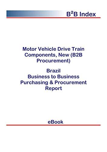 Motor Vehicle Drive Train Components, New (B2B Procurement) in Brazil: B2B Purchasing + Procurement Values