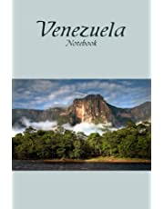 Venezuela Notebook: Notebook|Journal| Diary/ Lined - Size 6x9 Inches 100 Pages