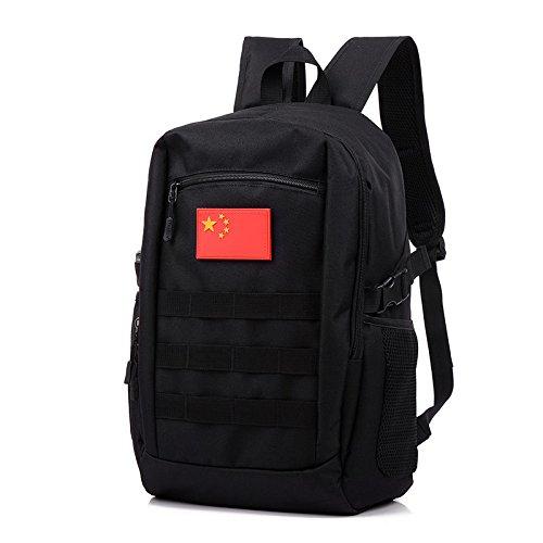 Meoaeo Camuflaje Táctico Exterior Escalada Mochila Multifuncional Bolsa Bolso Personal Camo Arena black