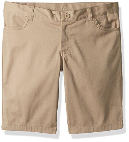 CLASSROOM Big Girls  Plus-Size Plus Pleat Front Short 14 Husky Denim Navy
