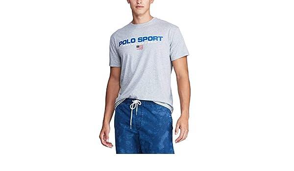Camiseta Ralph Lauren Polo Sport Gris Hombre XL Gris: Amazon.es ...