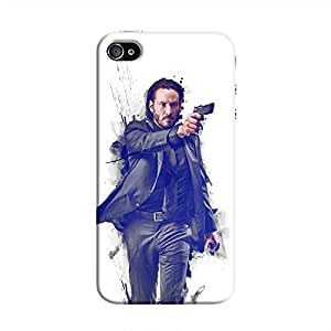 Cover It Up - John Wick Fade iPhone 4/4s Hard Case