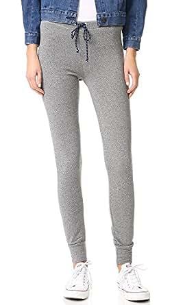 SUNDRY Women's Skinny Sweatpants, Heather Grey, 2