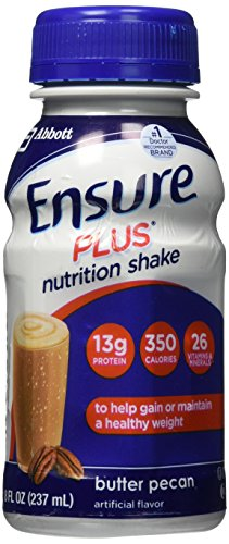 Ensure Plus Nutrition Shake Butter Pecan Flavor (pack of 6)