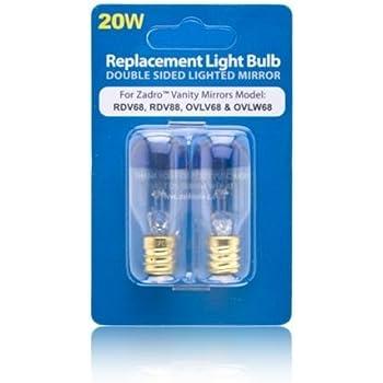 Conair 20watt Light Bulbs For Mirror