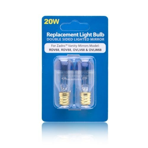 Zadro 20 Watt Replacement Light Bulb for Zadro Vanity Mirrors