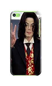 waterproof dustproof fashionable designed TPU Cool Michael Jackson phone case cover for iphone 5c