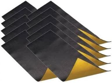 TCH – , Anti betún (isofónica Placa, 50 x 20 cm, autoadhesiva, (10 Unidades): Amazon.es: Electrónica