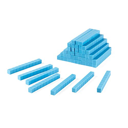 Differentiated Base Ten Blocks, Class Set of 488, Includes 4 Base Ten Place Value Mats by hand2mind (Image #3)