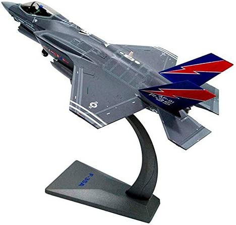 おもちゃモデル1:72戦闘機モデルシミュレーション合金船米軍雷航空機軍用モデル戦闘機子供用、大人用、飛行機ホビーコレクター(色: