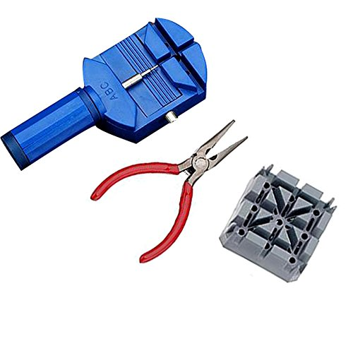 Delaman 16pcs Watch Repair Tool Watchmaker Kit for Changing Watchband & Replacing Battery by Delaman (Image #4)