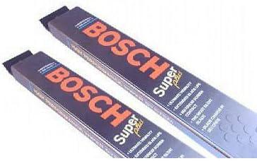 Bosch Superplus Spoiler Front Wiper Blade Set for Porsche 911-2004-2012