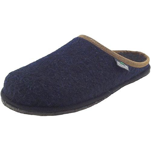 Stegmann 301 301 Unisex Walkfilz-Pantoffeln dunkelblau (dark blue)