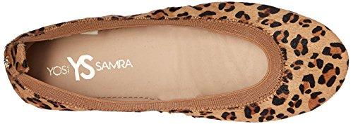 Yosi Samra Womens Samara 2.0 Leopardo Piatto Balletto