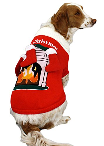 Fireplace Dog Sweater