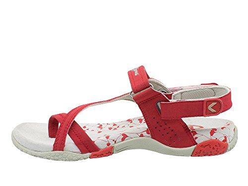 Damen Kefas Sandalen Kefas Damen Sandalen Rot Rot Kefas AnYn8qxX4