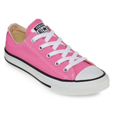 Converse Chuck Taylor All Star Low Top Unisex Canvas Oxford Shoes (9.5 Mens D(M) US/11.5 Womens B(M) US, Pink Paper)