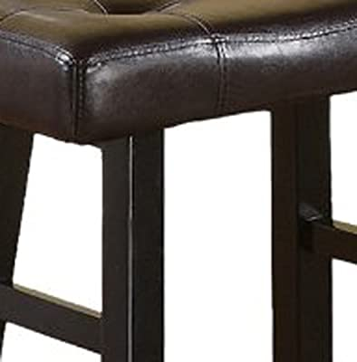 Country Series Counter Stool Faux Leather
