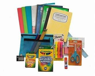 Over 60 Count School Supply Bundle for Middle,High School,College -  Binder,Mechanical Pencils,Sharpie Markers,Hi-Liters,Folders,Composition