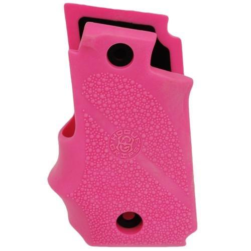 Hogue-Sig-P238-Grips-Rubber-wFinger-Grooves-Desert-Pink