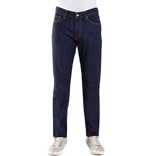 Blu 100 Stagioni Denim 1021 Carrera Fit Pantaloni Regular Vita 4 Scuro Jeans 700 Uomo Regolare Toocool 0gxq6OnH