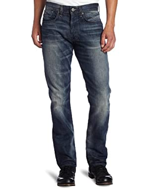 Men's 3301 Straight Leg Kanwal Jean in Blue