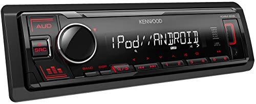 🥇 Autorradio Deckless KENWOOD KMM-205 con USB