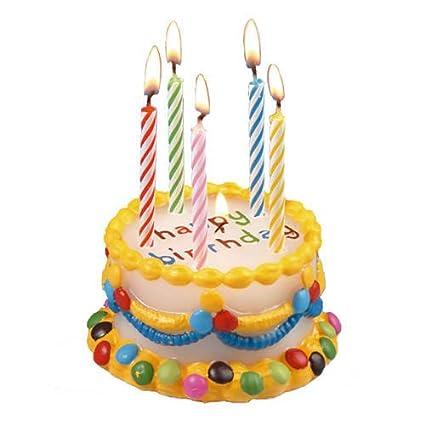 Party Discount Vela de Cumpleaños Tarta Lentejas, Multicolor ...
