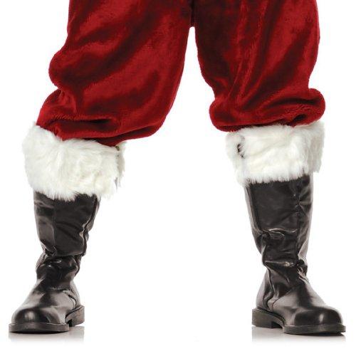 1 Inch Heel Boot With Fur Men's Sizes