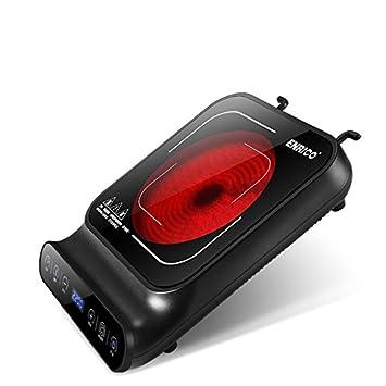 2200W de potencia electrica vitroceramica eléctrica portátil infrarrojo de cerámica estufa / cocina electrica: Amazon.es