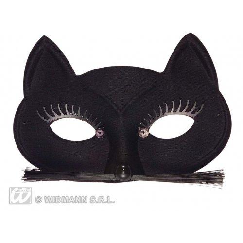 Black Cat Eyemask Feline & Cat Masks Eyemasks & Disguises for Masquerade Fancy Dress Costume Accessory