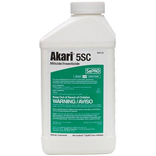 Akari 5 SC Miticide/Insecticide - 1 Quart Rei Insect Repellent