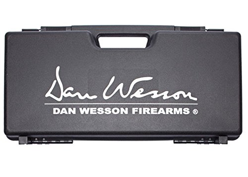 """ASG Licensed Dan Wesson Revolver Case - Fits Airsoft and Airguns - Black - 3.3"""" x 9"""" x 18"""""""
