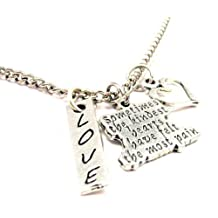 "Sometimes the Kindest Hearts Have Felt the Most Pain 18"" Fashion Necklace"