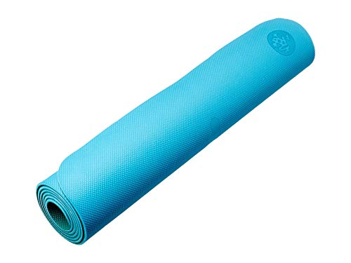 Manduka Begin Yoga Mat - Premium 5mm Thick Yoga Mat with Alignment Stripe. Reversible, Lightweight with Dense Cushioning for Support and Stability in Yoga and Pilates.