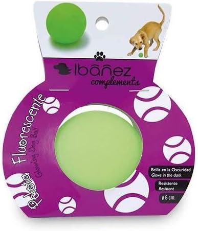 Ibañez Pelota Especial Verde Fluorescente: Amazon.es: Productos ...