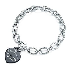 Tiffany And Co Bracelet Return To Heart Tag Charm Silver 141