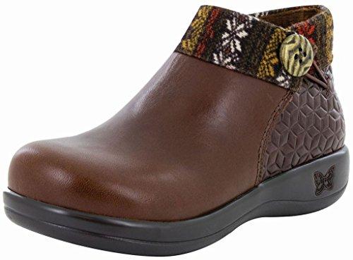 Alegria Womens Sitka Rain Boot Snowflake Choco Size 38 EU (8-8.5 M US Women)