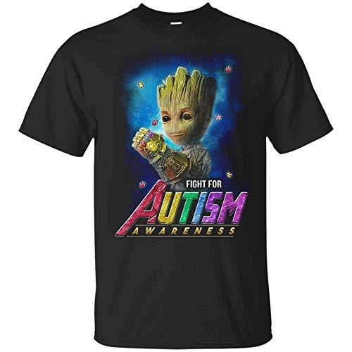 Avengers Endgame Shirt - Groot Shirt - Fight for Autism...
