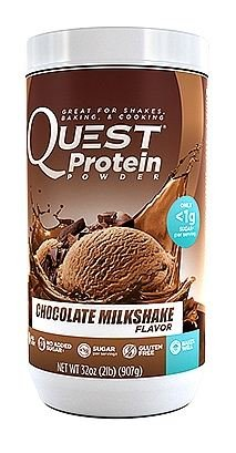 Quête Nutrition Protéines en poudre Chocolat Milkshake, 2 Pound