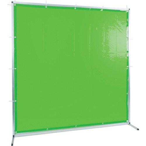 トラスコ中山 株 TRUSCO 溶接用遮光フェンス アルミ製 W1500XH1500 グリーン TYAF-1515-GN  B078JD7BX2