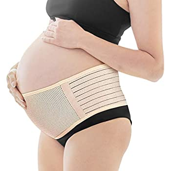 ab726779dfa6e Maternity Belt,Lower Back and Pelvic Support - Belly Band for Pregnancy,Nude