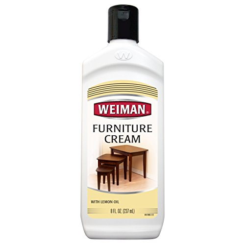 WEIMAN Furniture Cream with Lemon Oil, 8 fl oz.