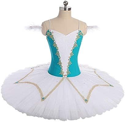 QSEFT Adulto Azul Cisne Lago Trajes De Ballet Niñas Ballet ...